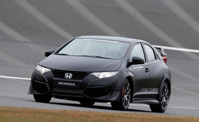 2015 Honda Civic Type-R Revealed During Latest Shakedown Tests