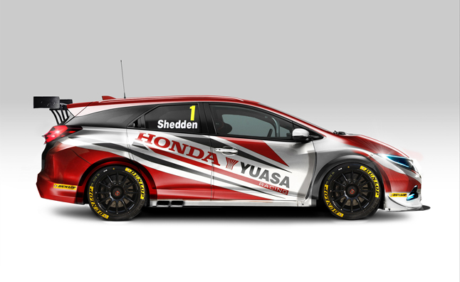 Honda Civic Wagon Race Car Revealed for BTCC