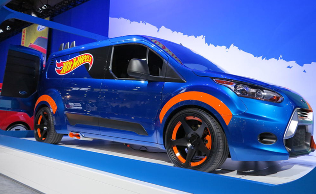 Ford Transit Connect Gets the Hot Wheels Treatment