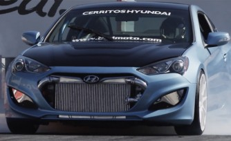 Hyundai Genesis Coupes Get Ready to Take on SEMA  Videos