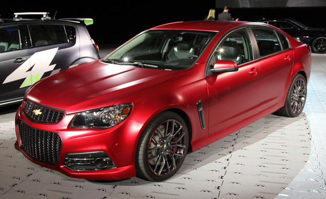 Chevrolet SS Jeff Gordon Performance Concept Unveiled