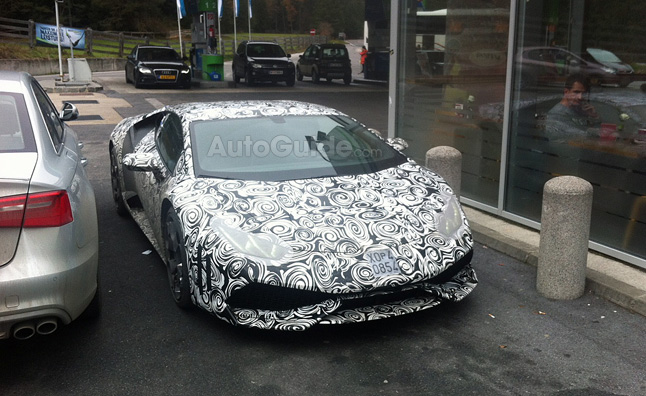 Lamborghini Cabrera Spy Photos Show More Than Ever