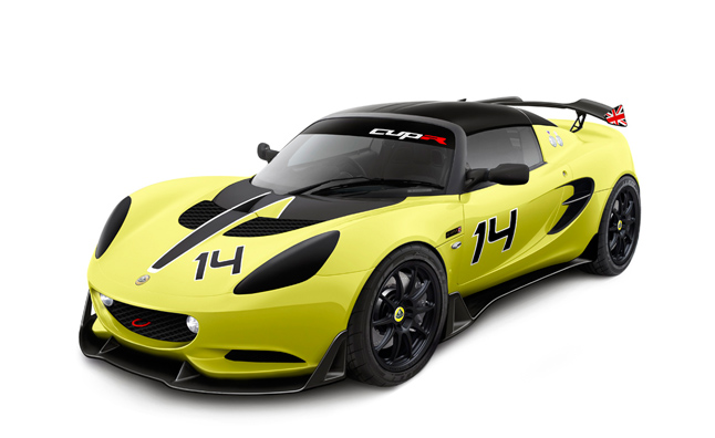 Lotus Elise Cup R Speaks Softly, Carries Big Spoiler