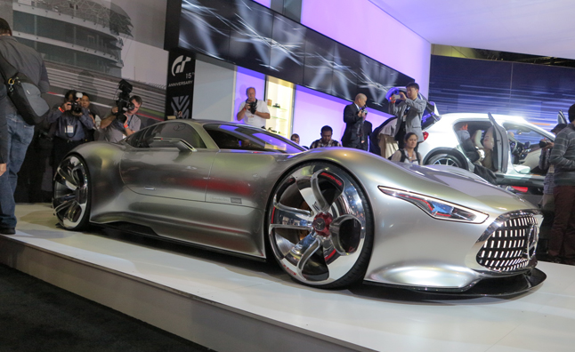 Mercedes AMG Vision Gran Turismo Becomes a Reality in LA