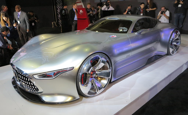 Mercedes AMG Gran Turismo Concept Video, First Look