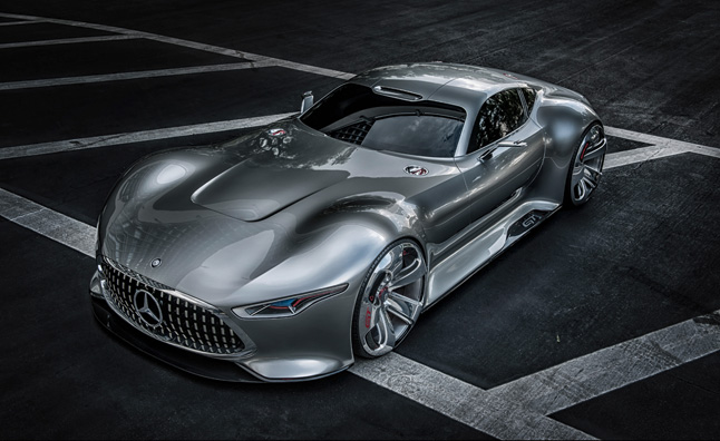 Mercedes AMG Vision Gran Turismo Concept is Virtually Awesome