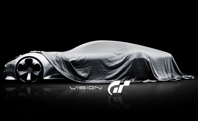 Mercedes Playstation GT6 Vision AMG Concept Teased