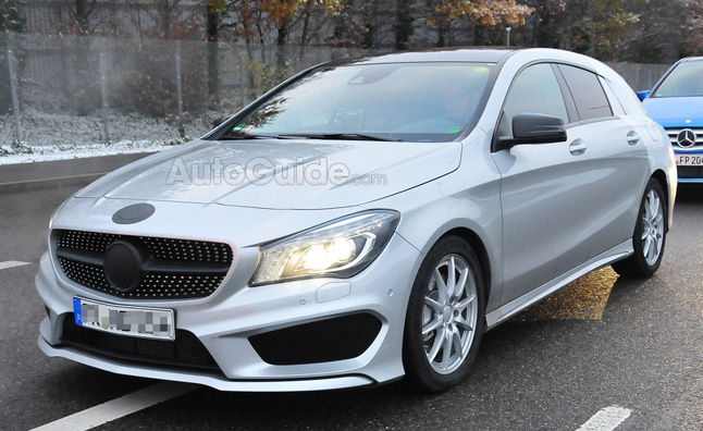 Mercedes CLA Shooting Brake Spy Photos Reveal a Stylish Wagon