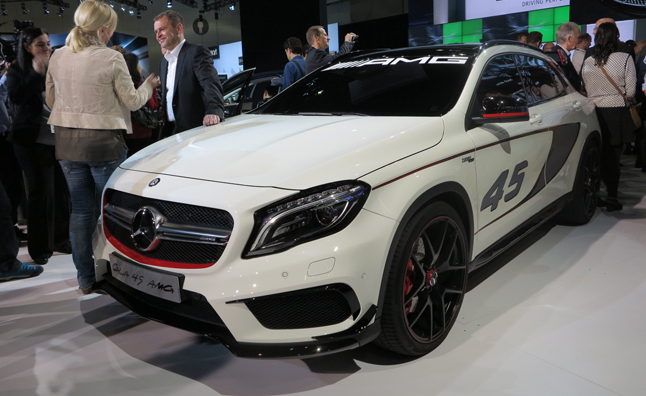 Mercedes GLA45 AMG Concept is a Juiced-Up German