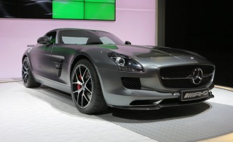 SLS Final Edition Sings Swan Song at 2013 LA Auto Show