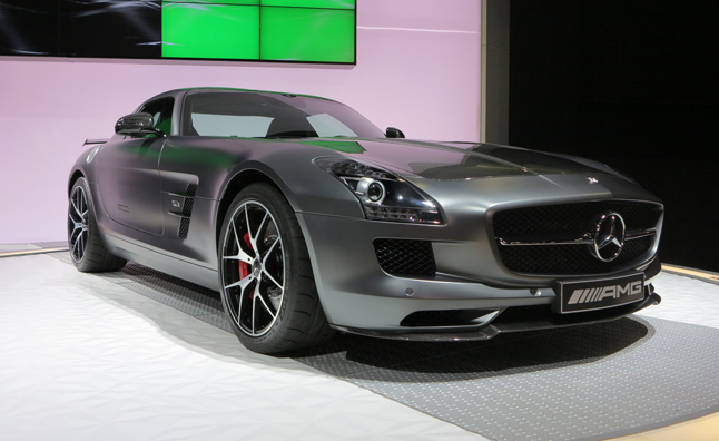 SLS 'Final Edition' Sings Swan Song at 2013 LA Auto Show