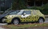 MINI Cooper Five-Door Hatch Spied Testing