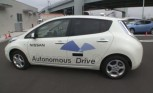 Nissan Self-Driving Leaf Tested on Public Roads at Home
