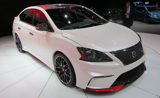 Nissan Sentra NISMO Concept Video, First Look