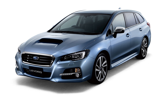 Subaru Levorg Concept Revealed as a Sport Wagon for Japan