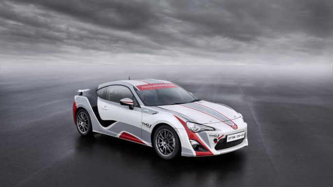 Toyota GT86 CS-R3 Rally Car Announced