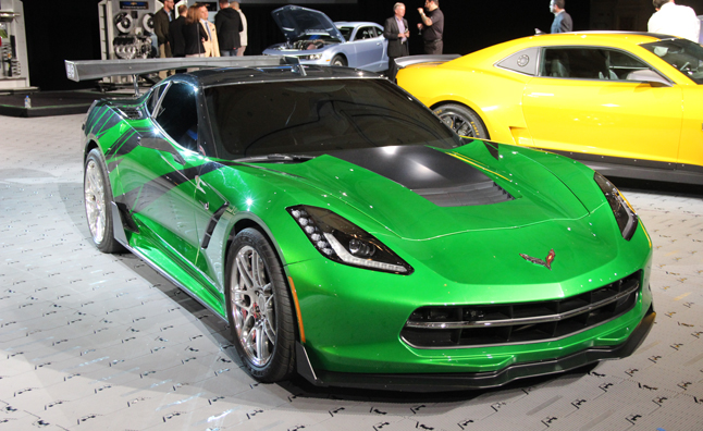 Chevy Showcases Transformers 4 Cars SEMA