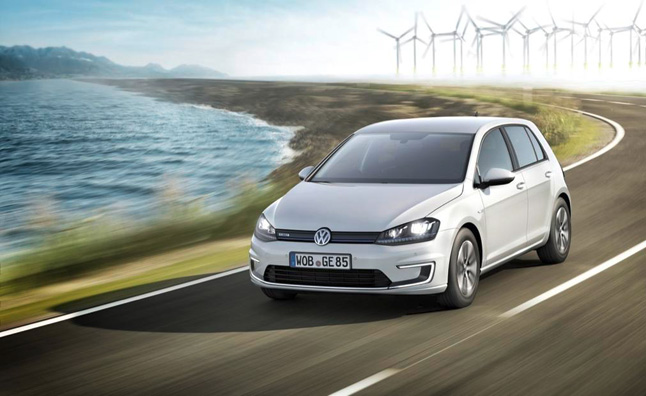 Volkswagen e-Golf to Make U.S. Debut at LA Auto Show