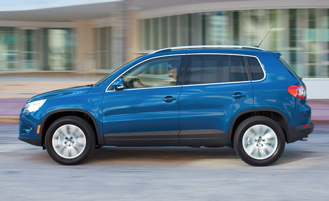 Volkswagen Tiguan Recalled for Lighting Fault