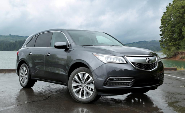 2014 Acura MDX Recalled for Loose Bolts