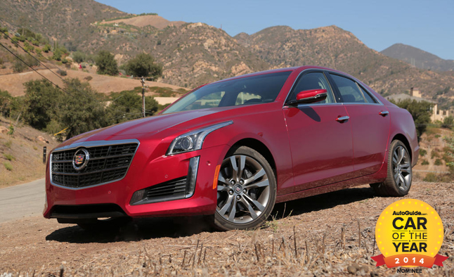 AutoGuide.com 2014 Car of the Year Finalist No. 2 – Cadillac CTS