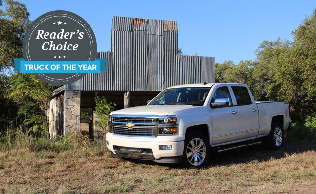 Chevy Silverado Named 2014 AutoGuide.com Reader's Choice Truck of the Year