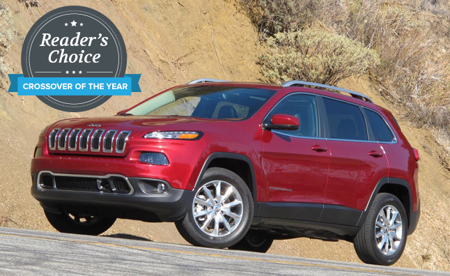 Jeep Cherokee Named 2014 AutoGuide.com Reader's Choice Crossover of the Year