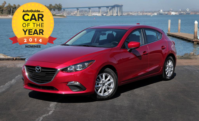 AutoGuide.com 2014 Car of the Year Finalist No. 4 – 2014 Mazda3