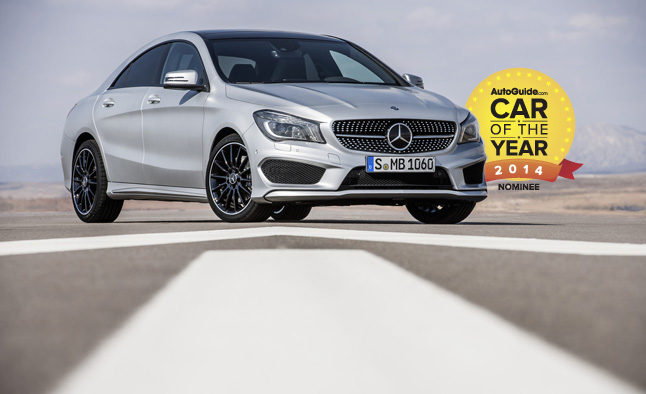AutoGuide.com 2014 Car of the Year Finalist No. 5 – Mercedes-Benz CLA-Class