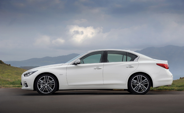 Infiniti Q50 Recalled for Steer-by-Wire Issue