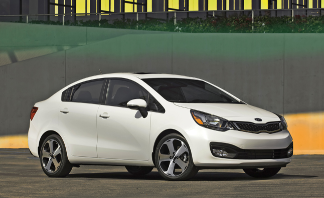 2014 Kia Rio Sedan Priced From $14,600