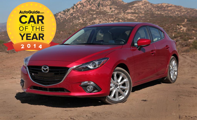 AutoGuide.com 2014 Car of the Year Award Winner – 2014 Mazda3