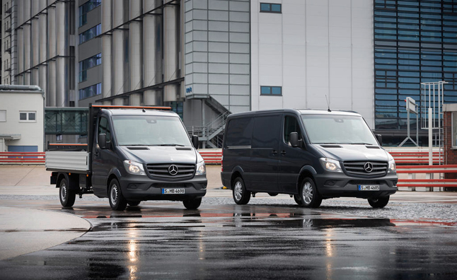 Mercedes Sprinter AWD Variant Heading to U.S. by 2015