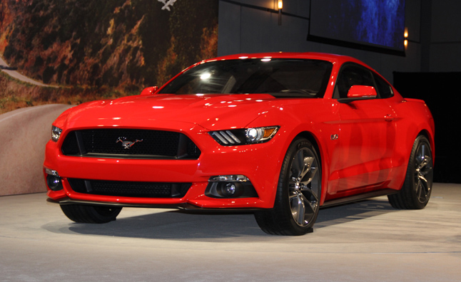 2015 Mustang Fully Revealed
