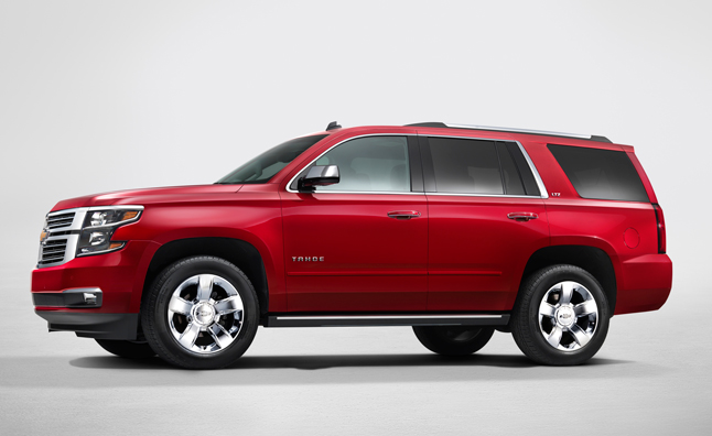 2015 Chevrolet Tahoe Gets New Anti-Theft Features