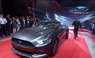 2015 Mustang Convertible Debuts in Australia  Video