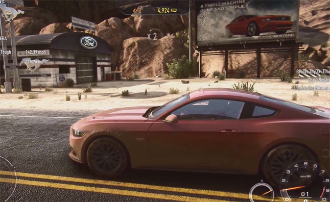 Drive the 2015 Ford Mustang Today in Need for Speed – Video