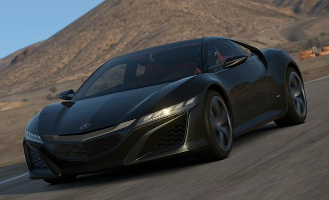 Acura NSX Concept Included in Gran Turismo 6