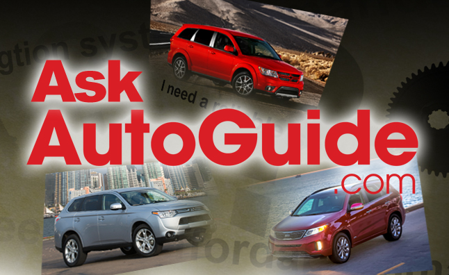 Ask AutoGuide No. 27 – 2014 Mitsubishi Outlander vs. 2014 Dodge Journey vs. 2014 Kia Sorento