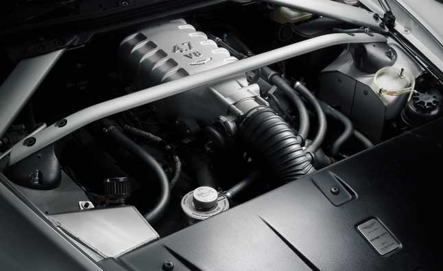 Aston Martin, Mercedes to Co-Develop New V8 Engines