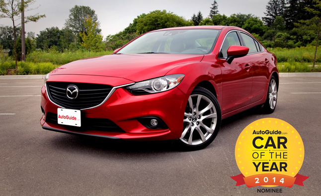 autoguide car of the year 2014 finalist mazda6