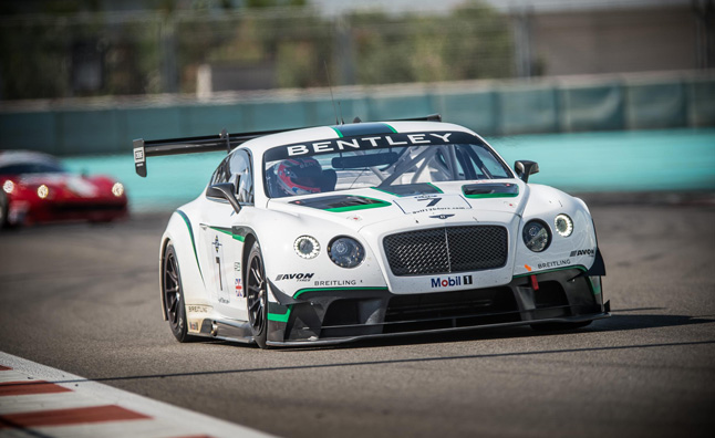 Bentley Finishes 4th in Return to Racing