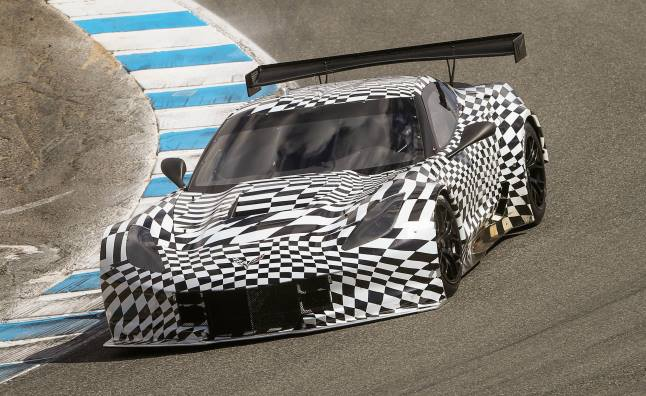 Chevrolet Corvette C7.R to Debut at Detroit Auto Show
