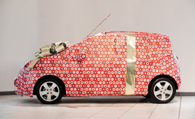 Gift-wrapped-Chevrolet-Spark-3