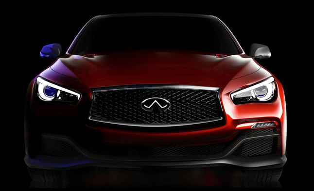 Q50 Eau Rouge Concept Hints at 'Extreme Performance'