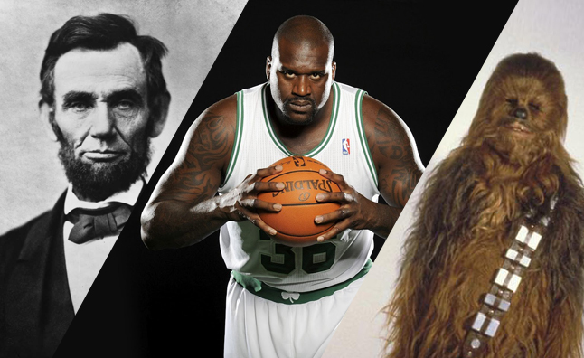 Lincoln-Shaq-Chewbacca