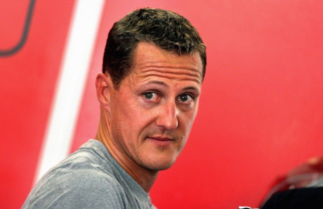 Michael Schumacher in der Motorsport Arena Oschersleben