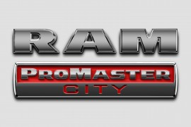 2015 Ram ProMaster City badge