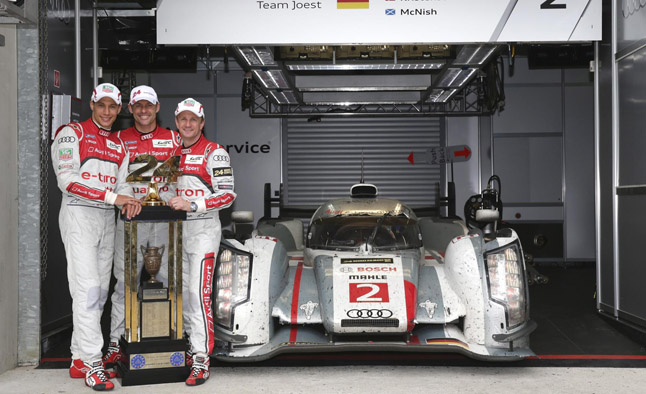 Allan McNish Announces Retirment as Le Mans Driver