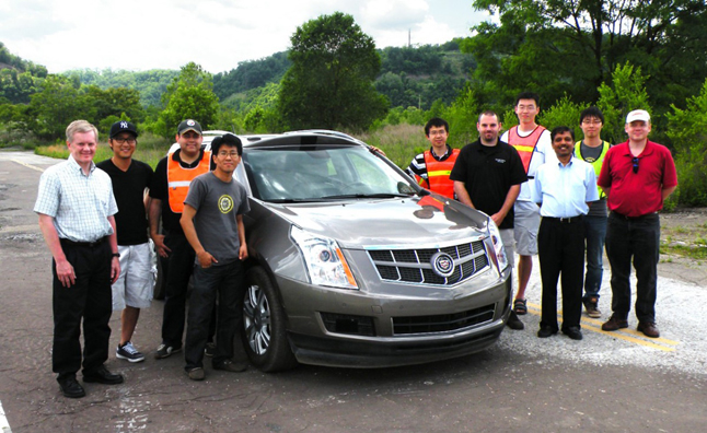 cadillac-srx-test-vehicle